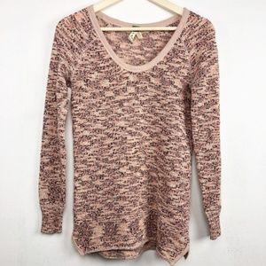 We the Free Marled Yarn Boston Melange Sweater S